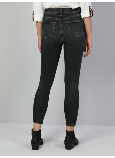 Colin's 760 Diana Süper Dar Kesim Kadın Denim Pantolon İndigo